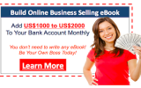 Build Your Online Business Selling eBooks (with Reseller Rights)